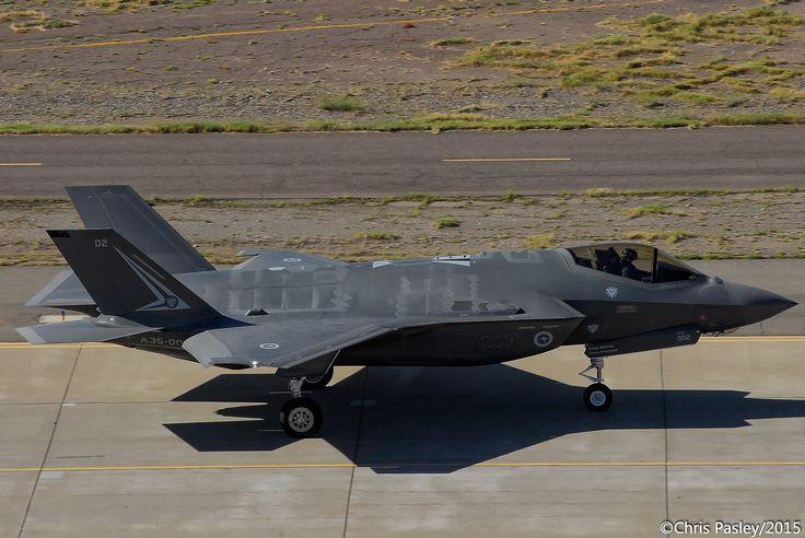 F-35A Lightning II - Royal Australian Air Force - A35-002
