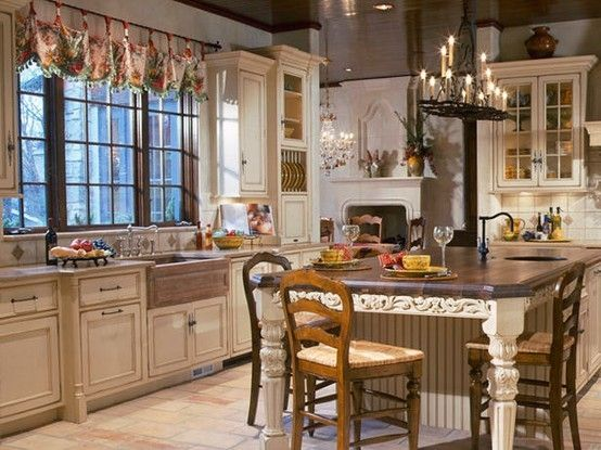 122 Best Images About Kitchen Island Table Combinations On Pinterest