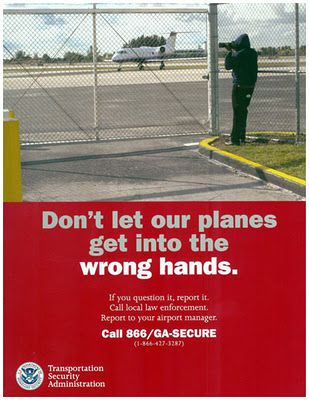Excellent advice for dealing with the police when shooting.      (With a camera, jerk.  Not a gun.  I have no advice for that.): Government Posters, Tsa Posters
