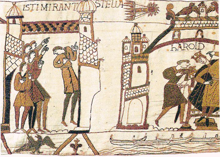 12. broderie de Bayeux, l'étoile filante mauvais présage bonus