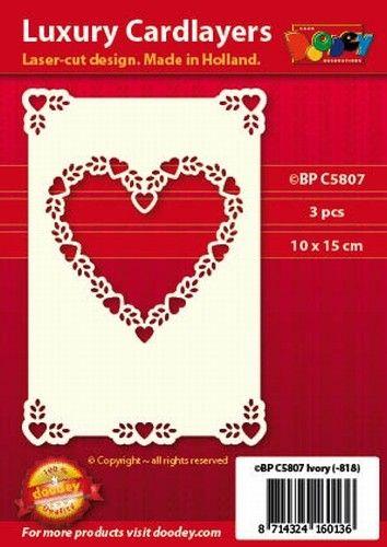 Nieuw bij Knutselparade: KK206 Doodey luxe oplegkaarten 3 stuks  ivoor BP C5807 https://knutselparade.nl/nl/papier-en-karton/6246-kk206-doodey-luxe-oplegkaarten-3-stuks-ivoor-bp-c5807.html   Papier en karton, Kaarten, Scrapbook, Scrapbook Albums/Papier, Luxe oplegkaarten A6 en vierkant -  Doodey