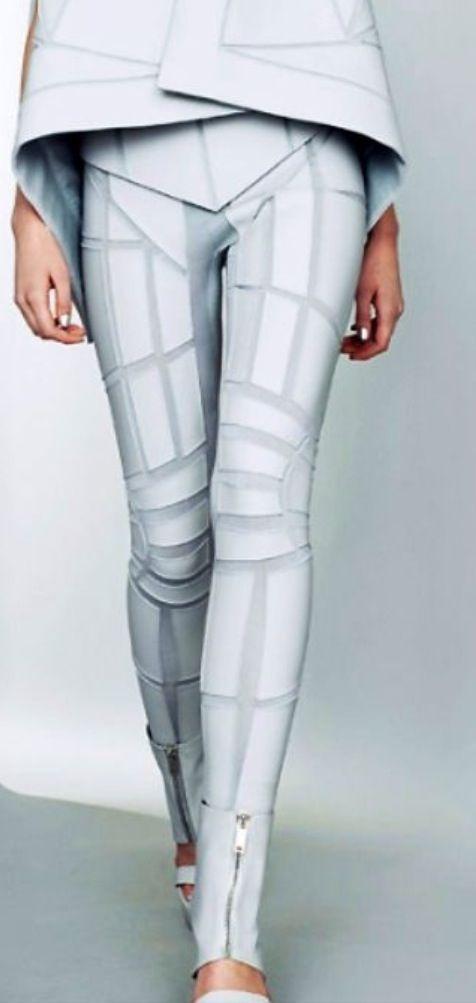 Portable technology. Modern, Crazy Cyberpunk Hair, Futuristic Fashion, Cyberf