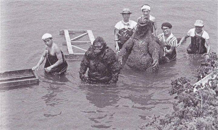 Behind the scenes of King Kong vs. Godzilla. Vfx behind the scenes, history and cinemagic