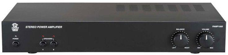 NEW Pro Stereo Amp.Amplifier W/ A/B Switch.Audio Mixing.Power Speakers.DJ Gear.