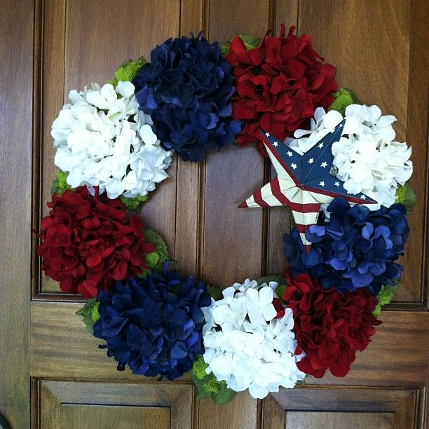 4th of July wreath!!