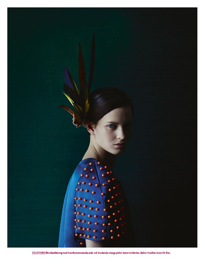 Portrait by Julia Hetta -     The lighting in this portrait is sublime. Reminds me of a Rembrandt painting.