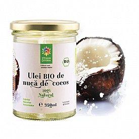 Ulei Bio de Nuca de Cocos 350ml