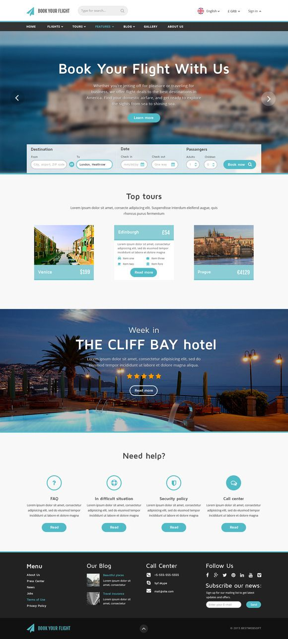 Book Your Flight - Booking Template by bestwebsoft on - travel policy template
