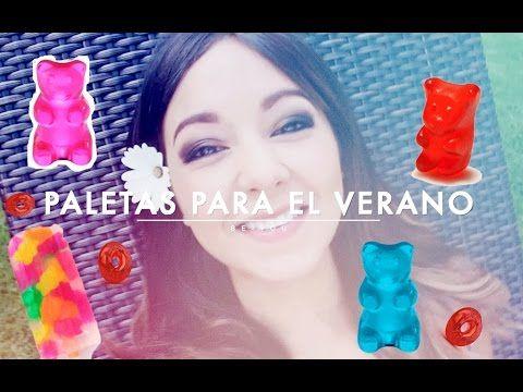 COMO HACER PALETAS DE HIELO DE MAMEY/LAS RECETAS DE LUPITA - YouTube