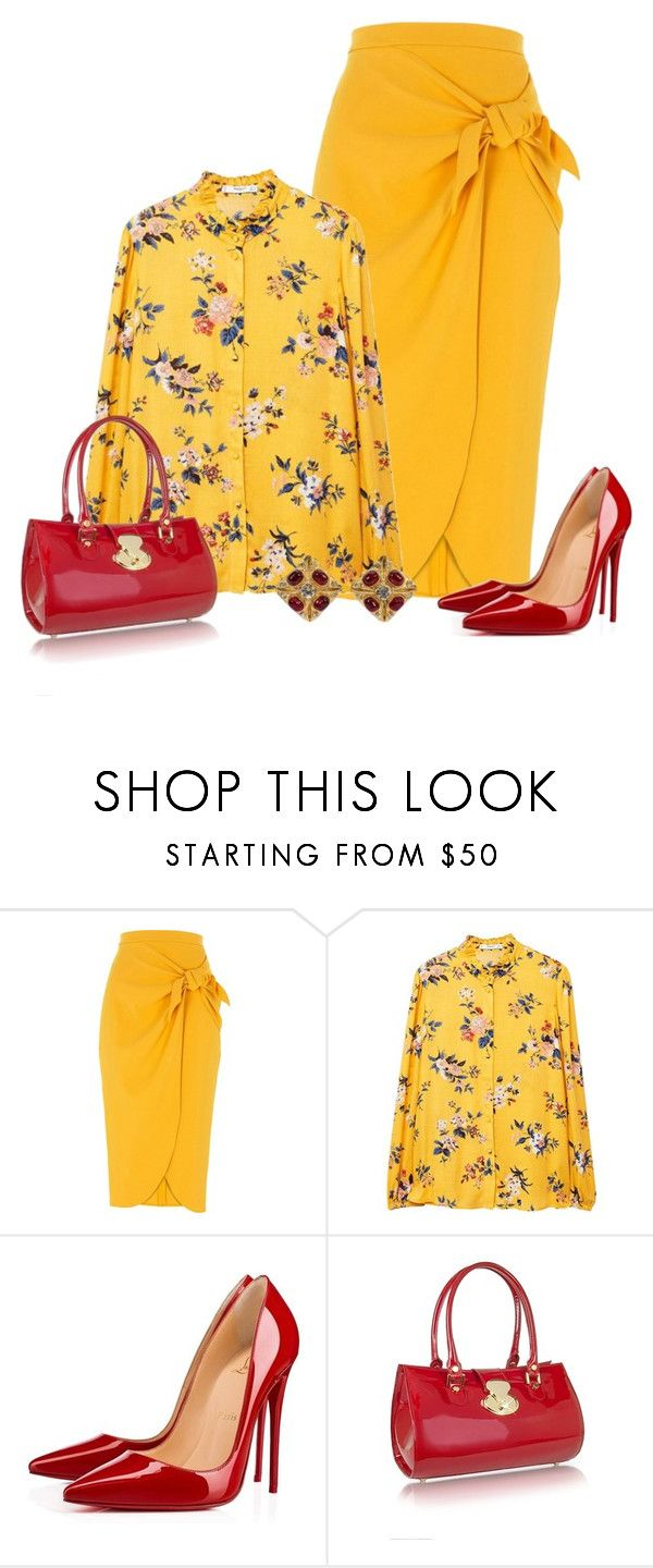 Fashion style How to yellow wear skirt polyvore for girls