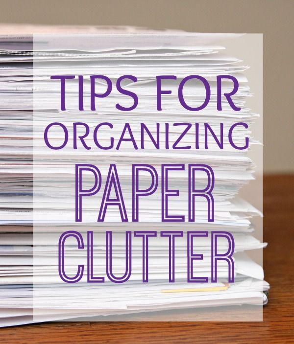 Tips for Organizing Paper Clutter - get your paper clutter organized just in time for tax season. #DymoandDone #ad @Staples