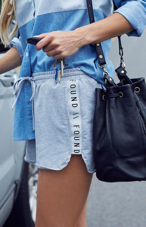 Front Runner Shorts Grey