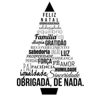 <p></p><p>Feliz Natal, solidariedade, equilíbrio, família, festa, reconhecimento, sabedoria, união, luz, prosperidade, esperança, perdão, força. fé, amor, paz, paciência, humildade, igualdade, sinceridade.</p>