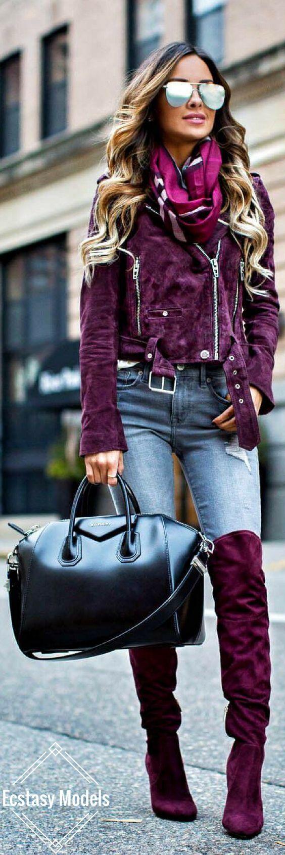 Fuchsia Pink // Fashion Look by Mia Mia Mine
