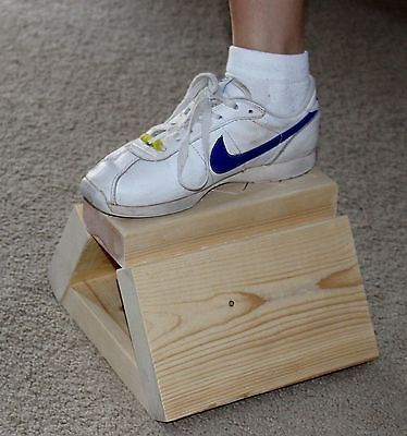 Cheer Flyer Stunt Step Handmade Balance Training Aide Safe No Tipping Wood Stand