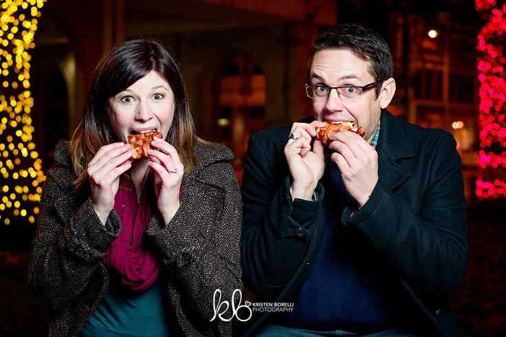 funny engagement photography at the fair, fair engagement photo ideas, winter engagement photography, fun photos