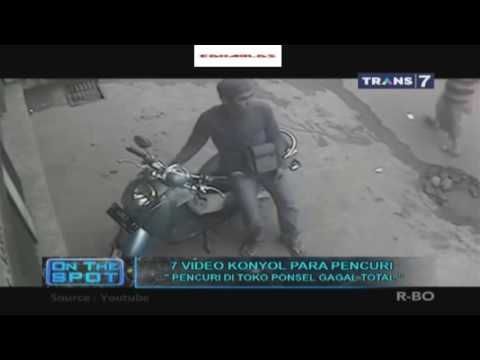 7 VIDEO KONYOL PARA PENCURI