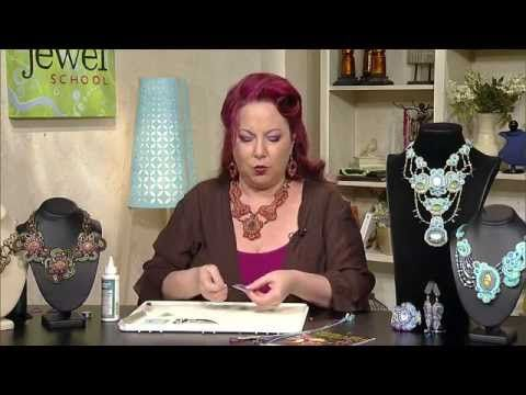 How to do Soutache Bead Embroidery: Part 1 How to Make a Shaping Stitch - YouTube