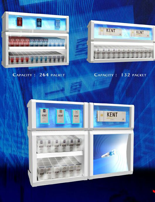 cigarette merchandising displays dispensers by S.Guray HALICIOGLU at Coroflot.com