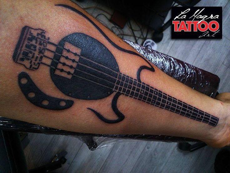 #musicman #bass #tattoo