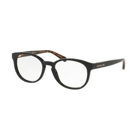 539344990f Coach Women s HC6102F 5442 53   Tortoise Rectangle Eyeglasses · Optical  FramesTortoisesEyeglassesCoachingBlackest ...