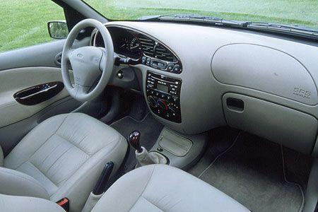 Ford Fiesta MK4 interior