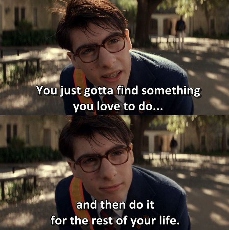 """""""For me, it's going to Rushmore"""" - Rushmore 1998 Dir: Wes Anderson"""
