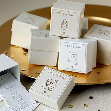 Boxed Set Wedding Trivia Pack