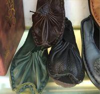 Ручной работы из натуральной телячьей кожи серии национальный колорит красочные обувь удобная обувь богемный стиль для леди девушки женщин