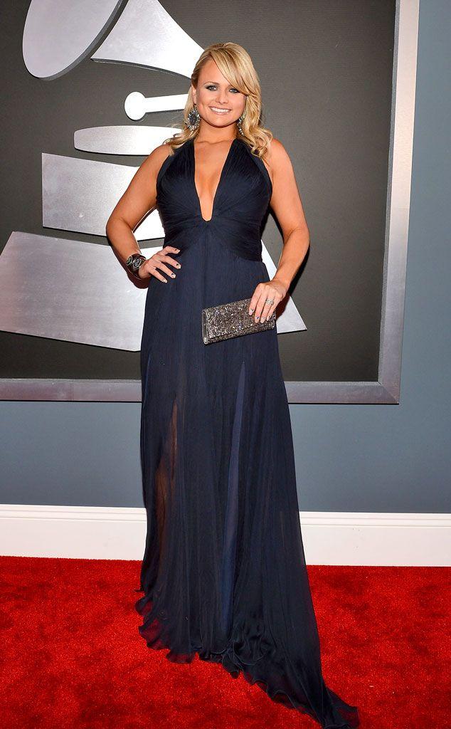 Miranda Lambert de 2013 Grammys: New Dress Code Violations!  Too much tittage? The Grammy dress code may say as much.