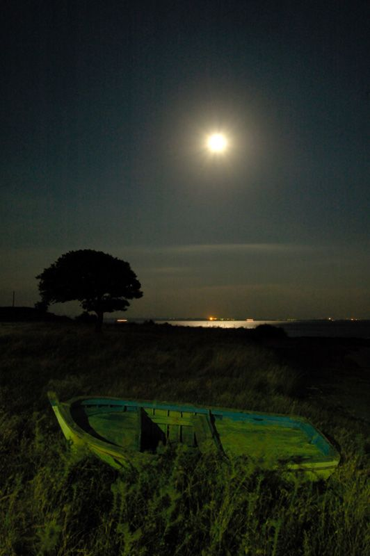 Moonlight - Canakkale, Turkey
