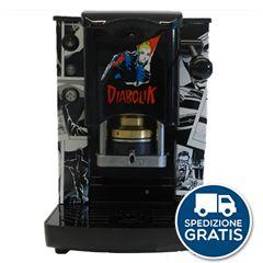 MACCHINA CAFFÉ CIALDE FILTRO CARTA 44MM FABER SLOT INOX - COLLEZIONE DIABOLIK