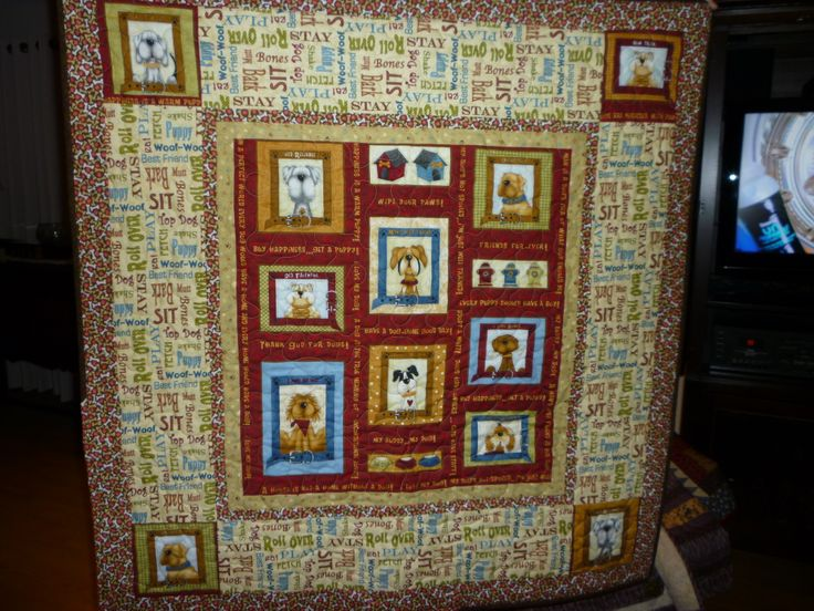 74 Best Quilts From Panels Images On Pinterest