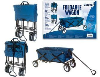 Outdoor bolderwagen opvouwbaar blauw | Buitenspeelgoed | Speelgoed | KARWEI