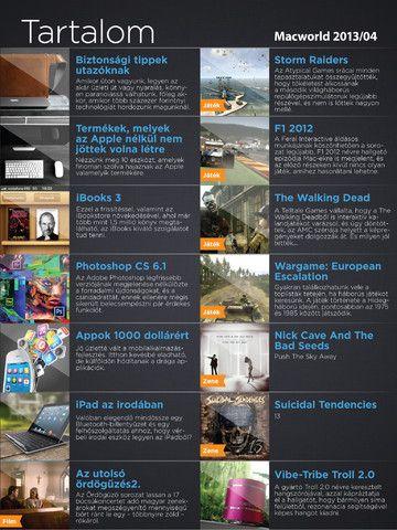 A májusi Macworld részletes tartalma