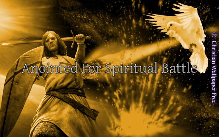Anointed For Spiritual Battle In Gold