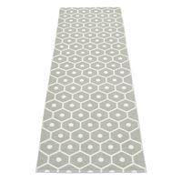 Honey teppe varm grå-vanilje - 70x350 cm - Pappelina til gangen