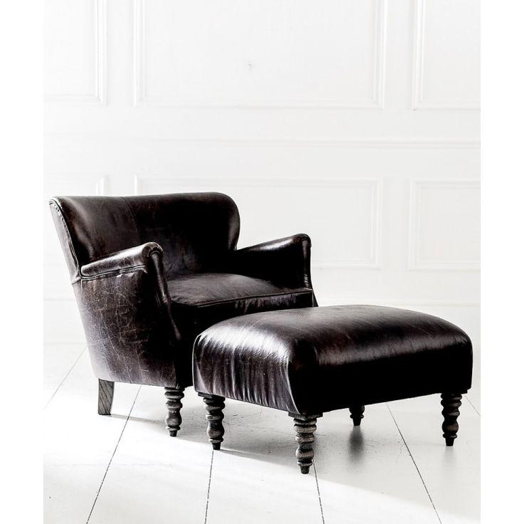 Randolf кожанное кресло - Кресла - Диваны и Кресла My Little France
