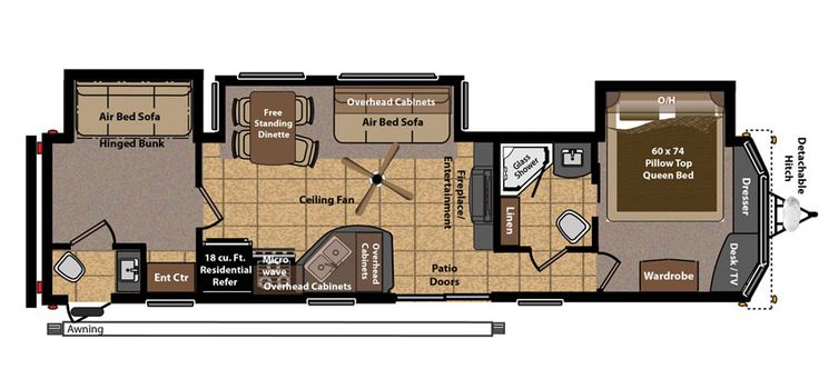 Keystone RV 406FB floorplan 2 bed 1 1 2 bATH   ideas for RV   Pinterest    Keystone rv  Beds and Bath. Keystone RV 406FB floorplan 2 bed 1 1 2 bATH   ideas for RV