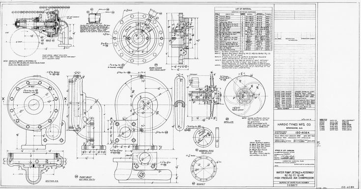 263 besten Mechanical drawings / Blueprints / CAD Drawings