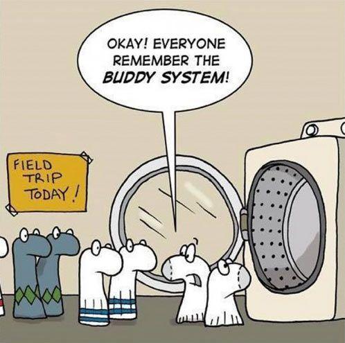 Said no sock ever…