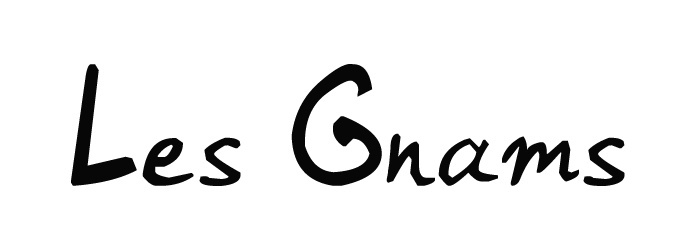 #logo #design #designer Les Gnams - by raphmau.com