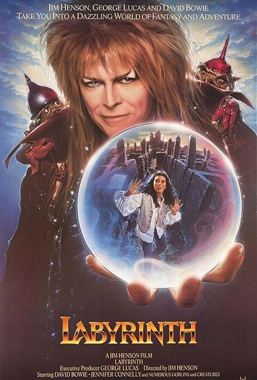 Tem um rei dos duendes mais lindo? Jareth! Labirinto a Magia do Tempo (1986)