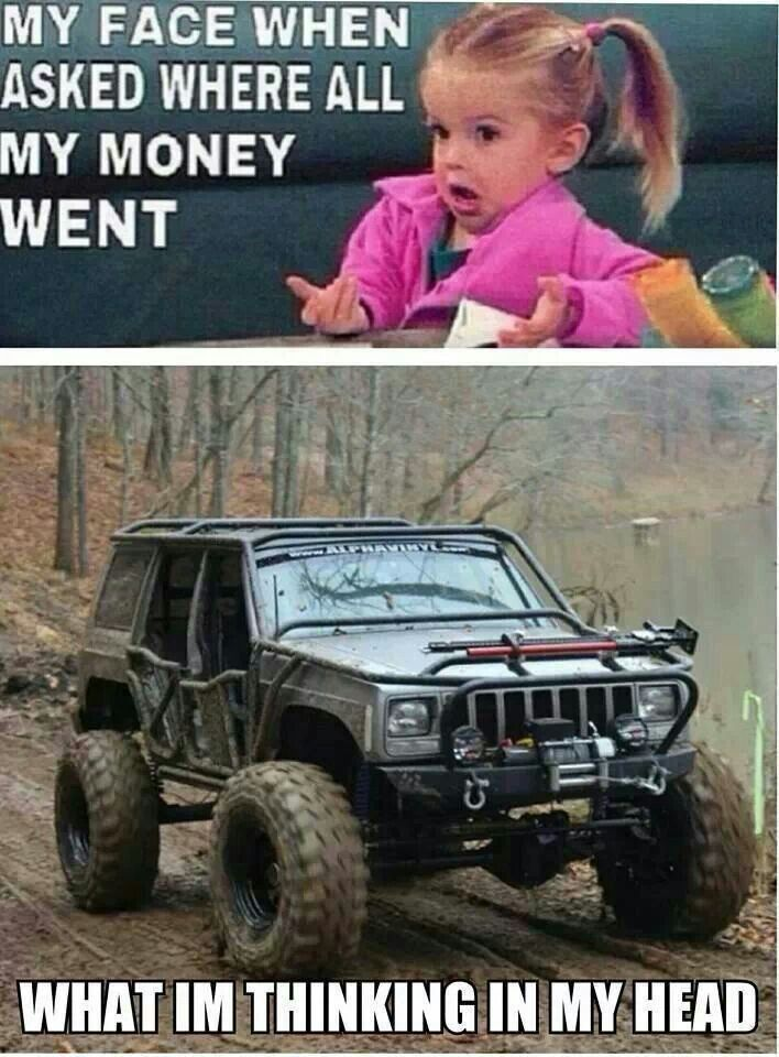 #jeep Cherokee Gear