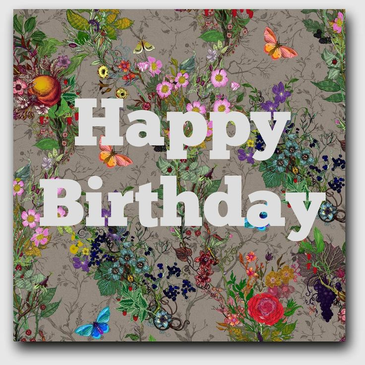 floral happy birthday --- http://tipsalud.com -----
