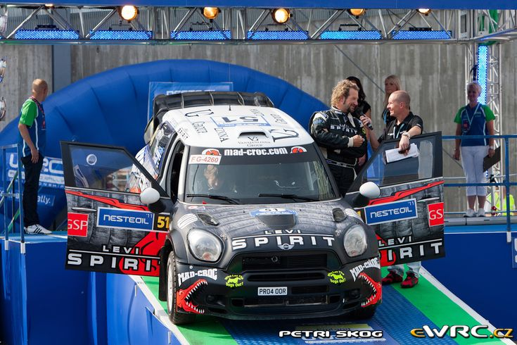 2011 Finland: Mattias Therman, Mini John Cooper Works WRC, 62nd