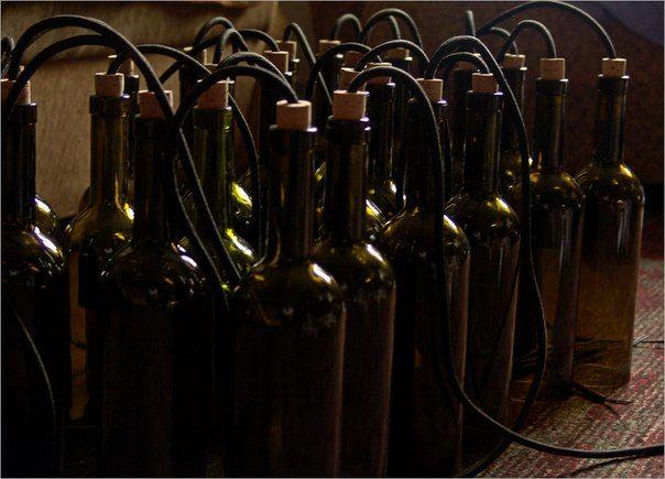 люстра из винных бутылок - Поиск в Google