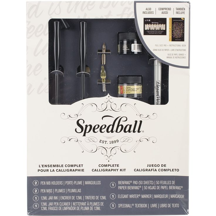 Speedball Complete Calligraphy Kit-