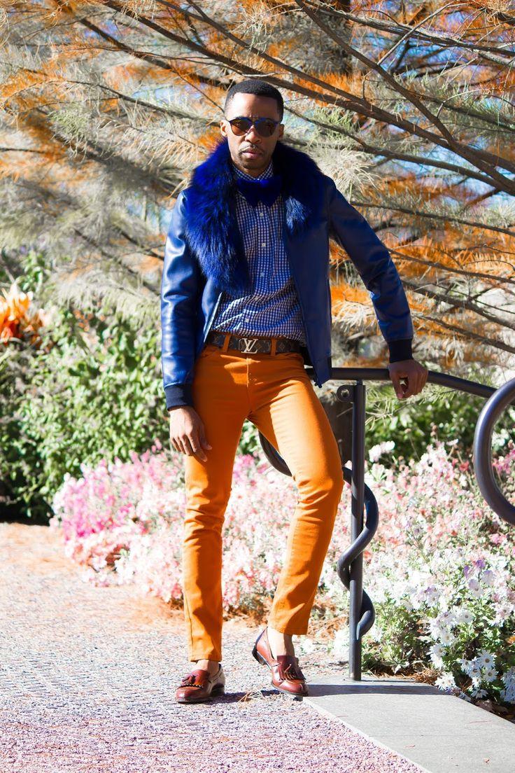 BLUE BLOOD - Fashion Blogger Nnamdi Moghalu @hisfashionhighness