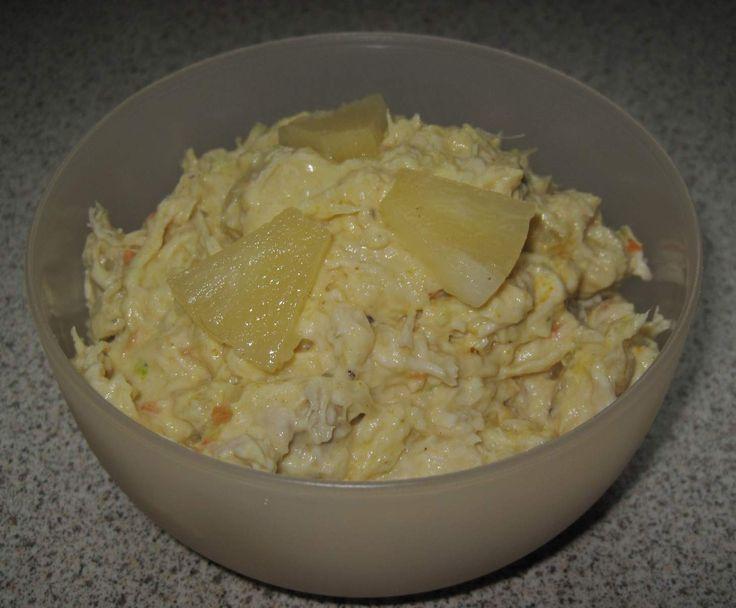 Rezept Geflügelsalat (Brotaufstrich) von ritaeva - Rezept der Kategorie Saucen/Dips/Brotaufstriche